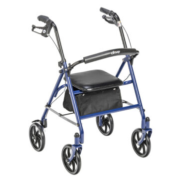 """Durable 4 Wheel Rollator with 7.5"""" Casters by Drive Medical"""