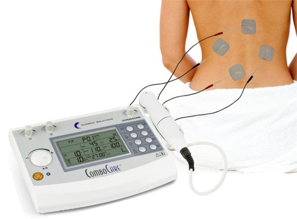 ComboCare E-Stim electrotherapy Ultrasound Combo Professional Device