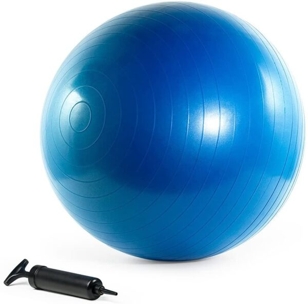 Exercise Ball with Anti-Burst Material