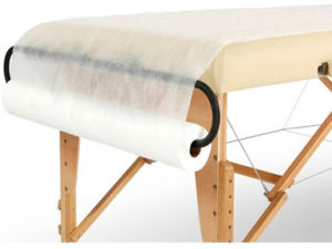 disposable-non-woven-massage table cover roll-20-sheet
