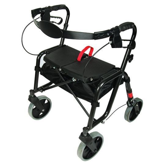 Lightweight Easy Foldable Rollator 5305 PCP