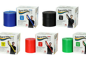 CanDo Sup-R-Band Latex-Free 50-yard Exercise Band