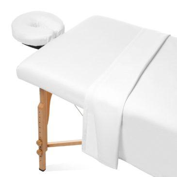 "Flat Massage Table Sheet (Poly-Cotton) 54""x90"""