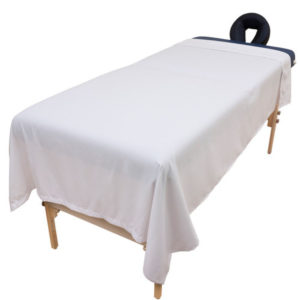 "Flat Massage Table Sheet (Poly-Cotton) 54""x90"""