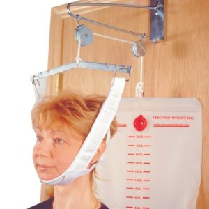 Overdoor Cervical Traction Set with Water Bag