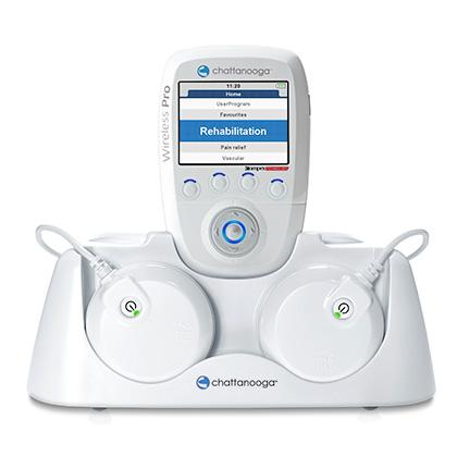 Chattanooga 2 Channel Wireless NMES / TENS Stimulator , Chattanooga Stimulation