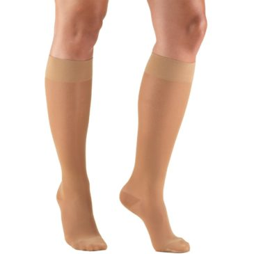 0263_Sheer-Knee-High Compassion Stockings