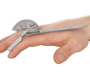 Baseline Finger Goniometer, Stainless Steel