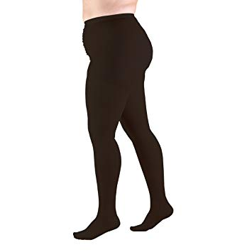 TruForm Classic Medical Pantyhose Compression Stockings 20-30mmHg / Unisex Closed Toe 1756, 1758