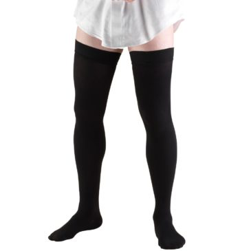 Truform Thigh High Socks / Men's Dress Style / 20-30mmHg 1945