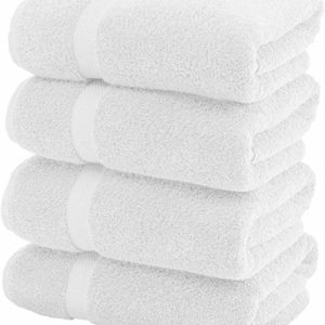 "Standard Bath Towel 22"" X 44"" White 12 Pack"