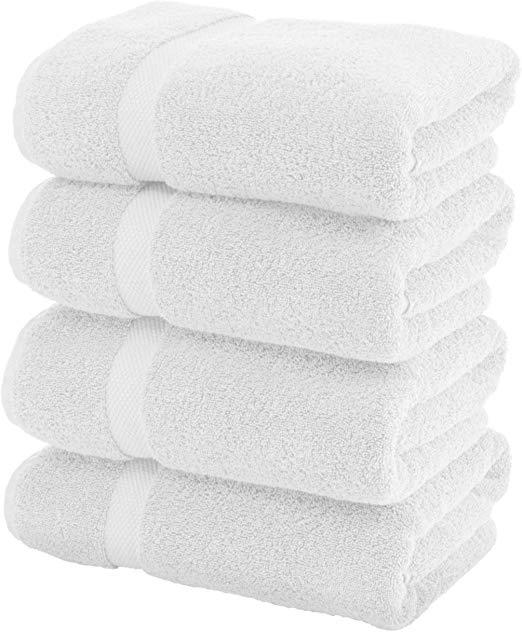 "Standard Bath Towel 22"" X 44"" White 12 Pack"