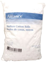 Cotton Ball Non-Sterile (Medium)
