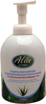 Aloe Care Foaming Alcohol Hand Sanitizer (1 Liter)