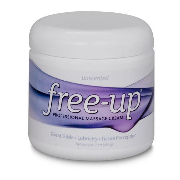 Free-Up® Unscented Massage/Physio Cream 16oz Tub
