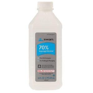 70% Isopropyl Alcohol 16oz Bottle