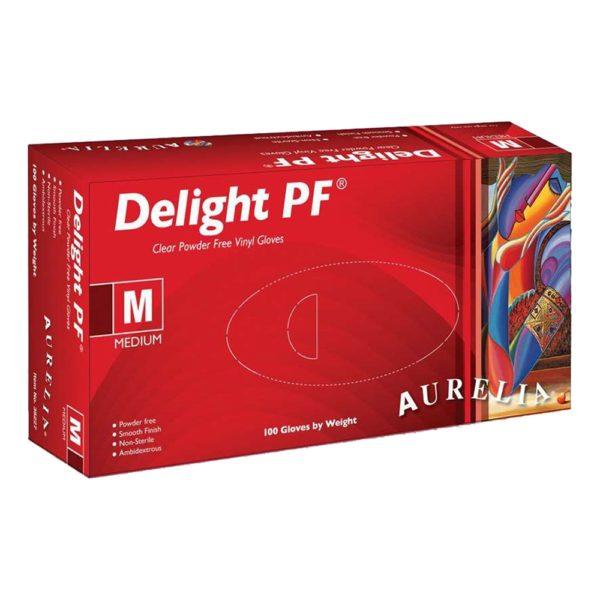 Aurelia Delight PF Vinyl Powder-Free Exam Gloves