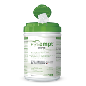 PREempt One-Step Surface Disinfectant Wipes