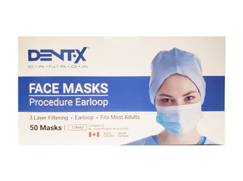Disposable 3-Ply Procedure Face Masks ASTM Level 3