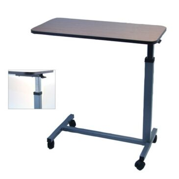 Overbed Table with Adjustable Height