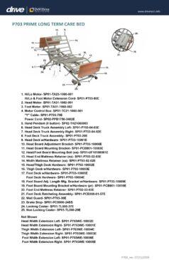 P703 Parts Diagram