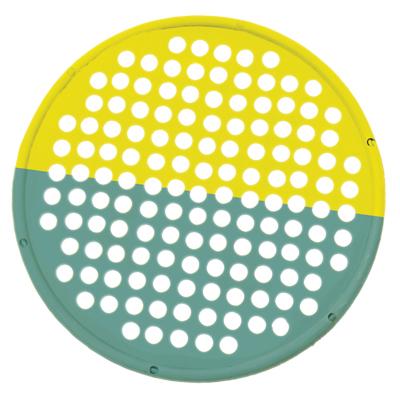 "CanDo Hand Exercise Web - 14"" Diameter - Multi-Resistance Yellow/Green"