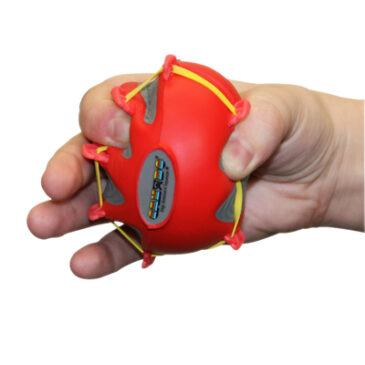CanDo Digi-Extend n' Squeeze Hand Exercisers - Red - Medium