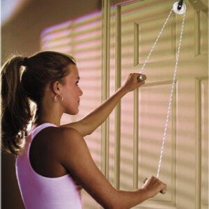 CanDo® Overdoor Shoulder Pulley with Door Strap