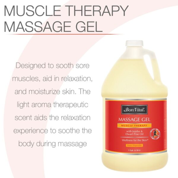 Bon Vital Muscle Therapy massage gel