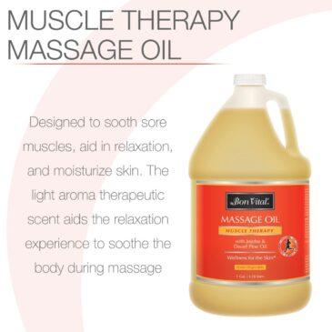 Bon Vital Muscle Therapy massage oil