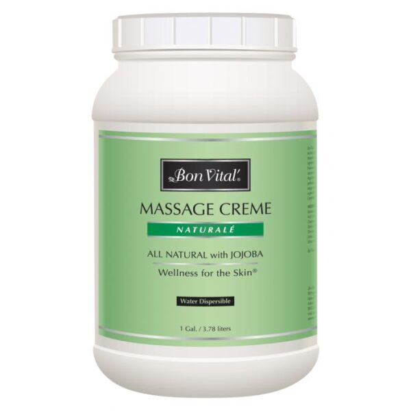 Bon Vital' Naturale Massage Creme 1 Gallon Jar