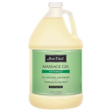 Bon Vital' Naturale Massage Gel 1 Gallon Bottle
