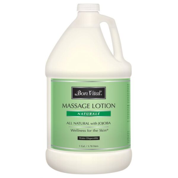 Bon Vital' Naturale Massage Lotion 1 Gallon Bottle