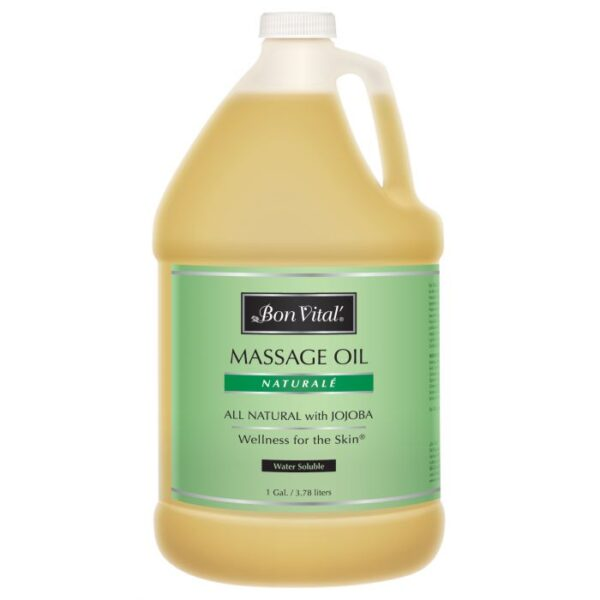Bon Vital' Naturale Massage Oil 1 Gallon Bottle