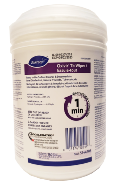 Oxivir TB Disinfectant Cleaner Wipes
