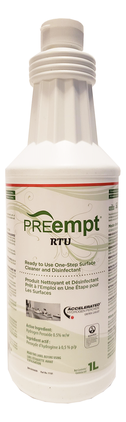 PREempt™ RTU One-Step Surface Cleaner & Disinfectant Solution