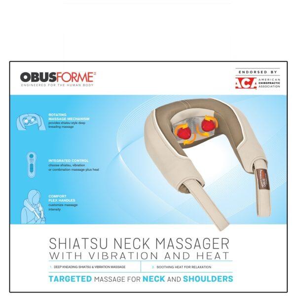 Obus Forme Shiatsu and Vibration Neck Massager