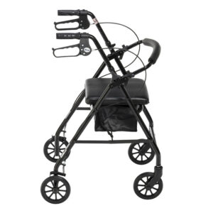 "Aluminum Rollator, 6"" Casters by Drive Medical"