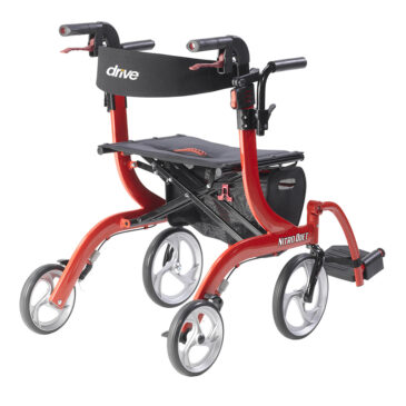 Nitro Duet Rollator and Transport Chair by Drive Medical