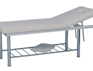 2-Section Stationary Metal Massage Table