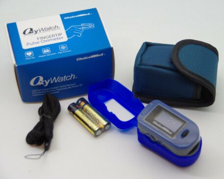 Oxywatch Digital Fingertip Pulse Oximeter by ChoiceMMED