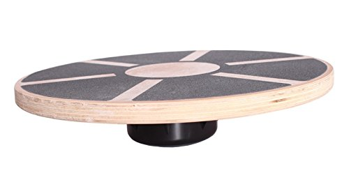 "16"" Wooden Wobble Board for Balance Stability Training"
