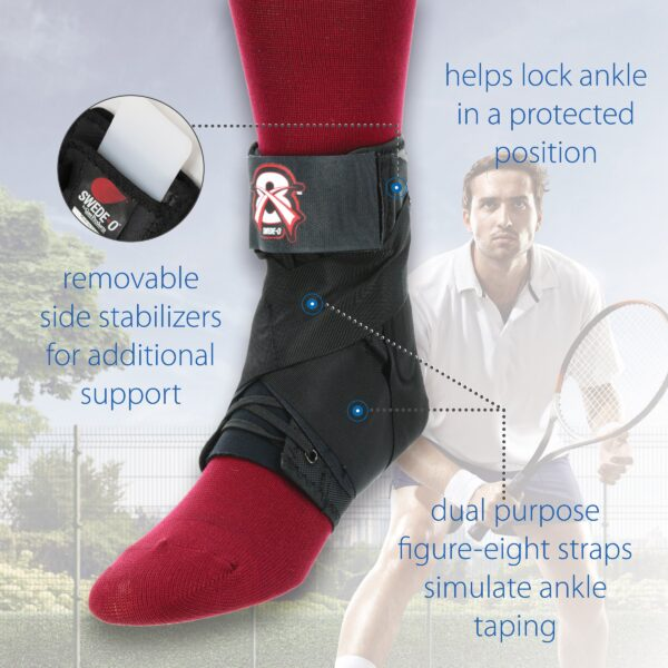 Swede-O X8 Ankle Brace by Core Products USA