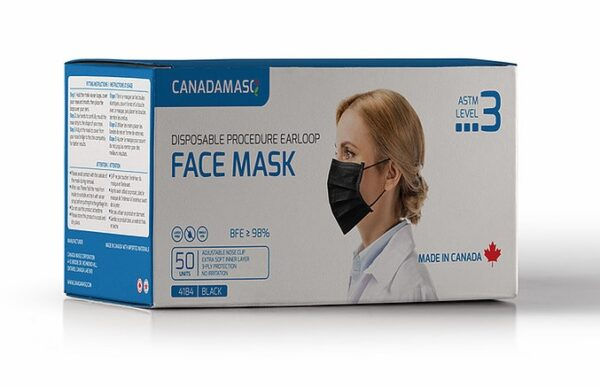 Canada Masq Medical Grade ASTM Level-3 Procedure Mask