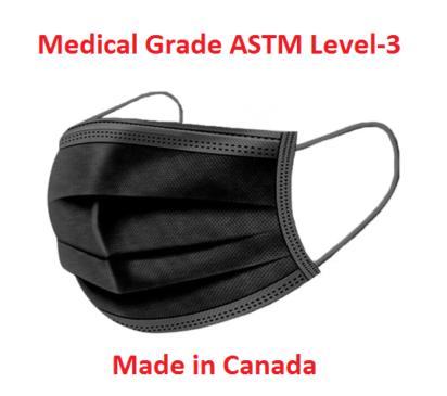 Medical Face Masks Black