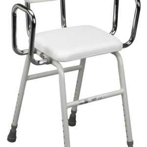 All-Purpose Stool with Adjustable Arms
