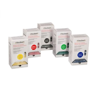 TheraBand Individual Professional Resistance Bands - 30 packs Dispenser Box