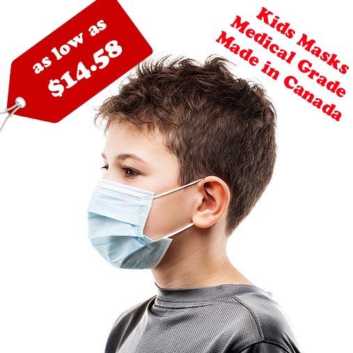 Canadian Kids Masks on sales
